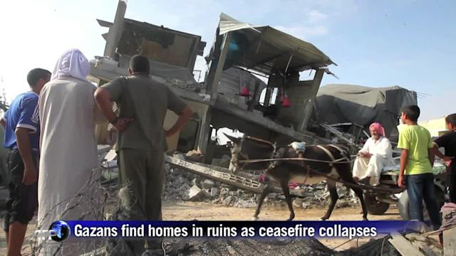 Gaza truce falls apart as Israeli soldier reportedly snatched