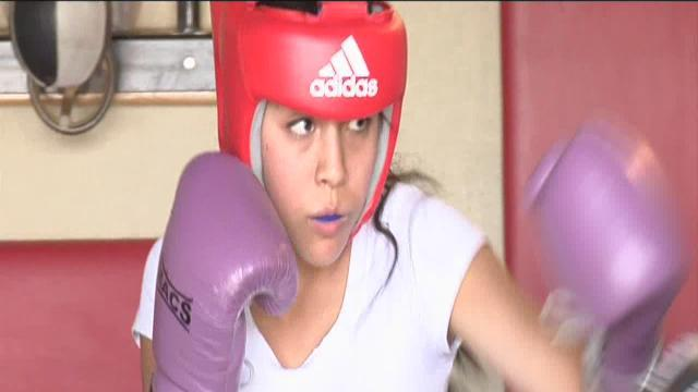 Punching Her Ticket: Odalys Camacho hopes to make it big in boxing