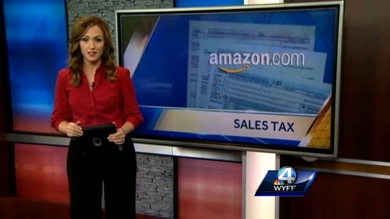 Taxpayers question Amazon sales tax email