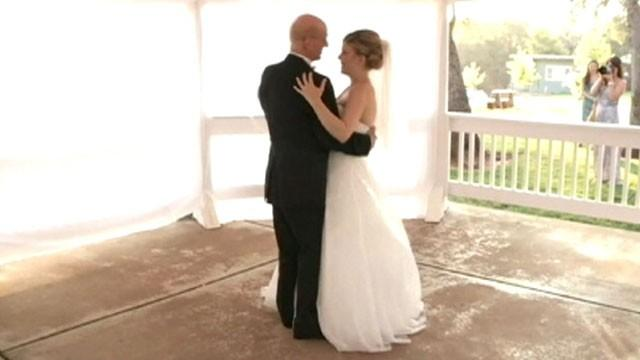 Dying Dad Films Last Dance for Daughter's Wedding