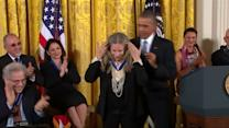 Obama hands out Presidential Medal of Freedom awards