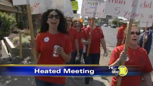 Madera teachers: We've had enough