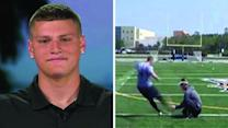 Teen's long shot video of 70-yard field goal goes viral