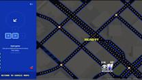 Google Maps Brings Pac-Man To The Streets