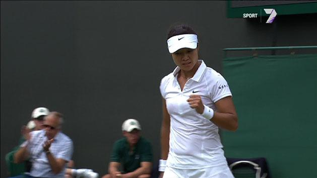 Highlights: Li Na v Halep