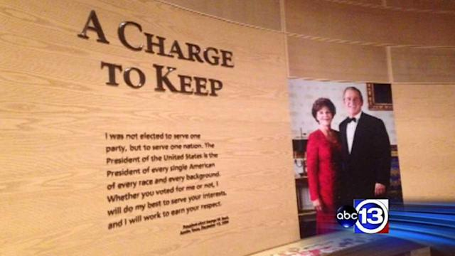 New Bush center unique from other presidential libraries