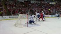 Datsyuk redirects Tatar's shot past Bishop