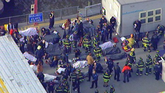 Multiple injuries sustained in NYC ferry crash