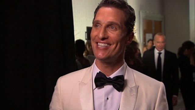 Matthew McConaughey Shares His Mantra