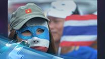 A Staid Thai Party Takes To Protesting The Government