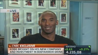 Kobe Bryant expands his brand