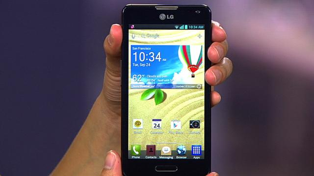 T-Mobile's 4.5-inch LG Optimus F6