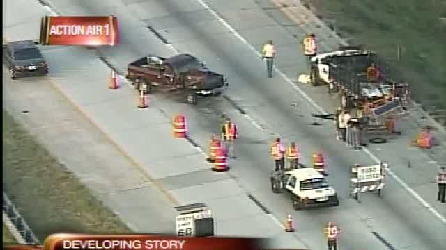 Road worker struck and killed on I-75