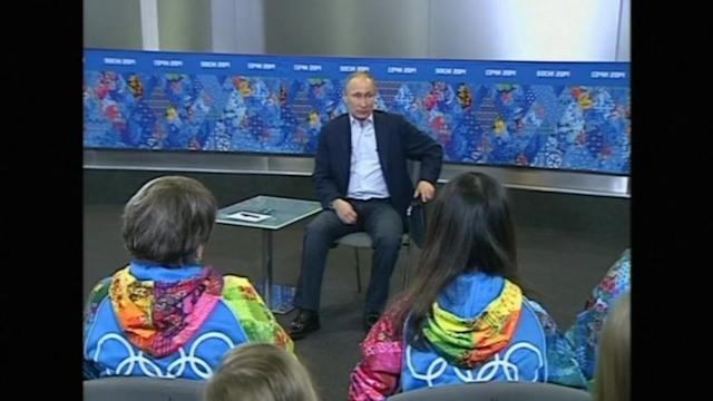 Putin: gays will not face discrimination at Olympics, but