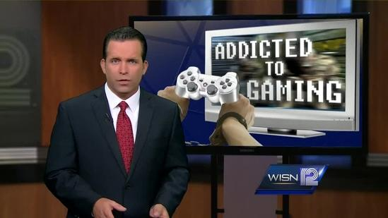 WISN 12 News investigates gaming addiction