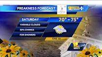 Tony: Warmer today, but clouds, showers expected