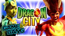REAL LIFE DRAGON CITY BATTLE