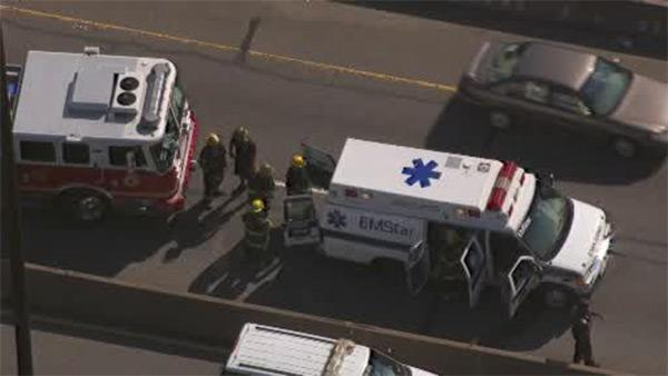 Ambulance, with patient, stolen on Schuylkill Expressway