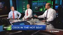 CEOs in the hot seat