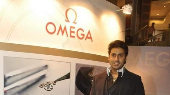 Abhishek Bachchan Launches New Range Of Omega Watches