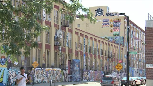 Famous Graffiti Covered Building Could Disappear