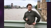 This Marble Statue Looks Just Like Ron Swanson And It Reminds Fans Of How Much They Love Him