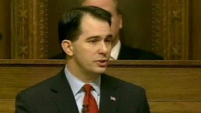 Walker Delivers First State Of The State Address In Madison