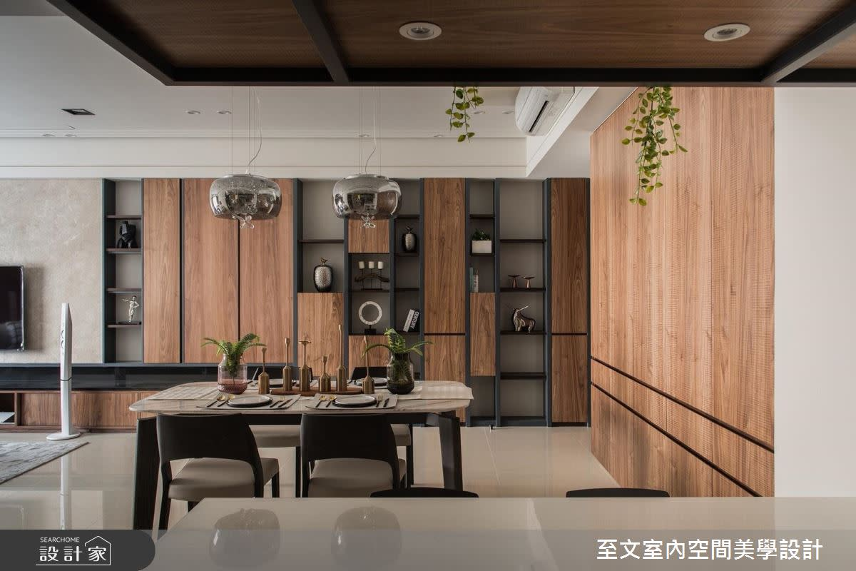 醫生夢想中最舒適家屋! 木紋質感與滿點收納一次完勝