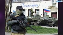 Pro-Russian Gunmen Make Inroads In Eastern Ukraine