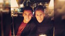 Tom Daley and Dustin Lance Black Enjoy a Dinner Date