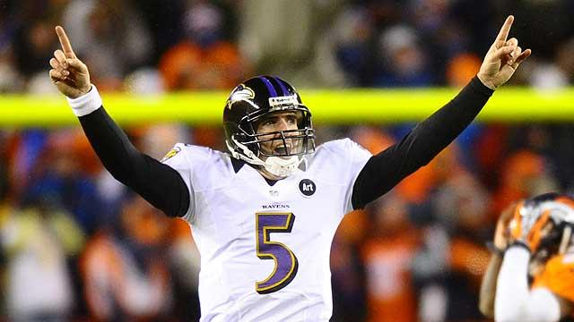 Joe Flacco has chance to look Super