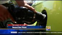 San Diego sees record gas prices