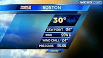 JC's Friday Boston area forecast
