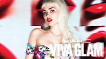 Miley Cyrus Rocks Long Hair for New MAC Viva Glam Campaign!