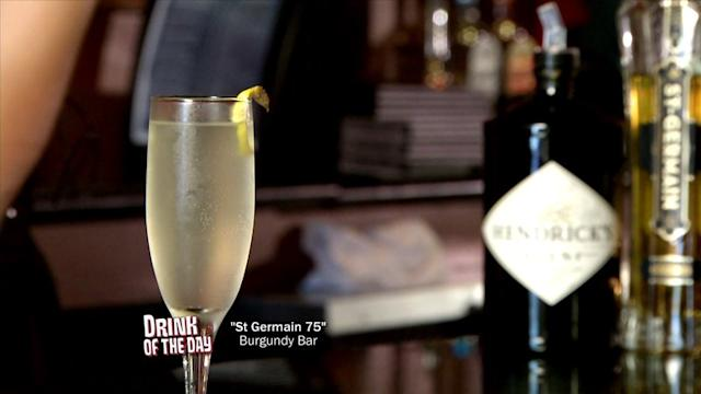 How to Make a St. Germain 75 Cocktail