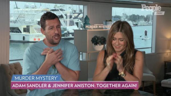 Adam Sandler Tells Jennifer Aniston to Make a Friends Reboot