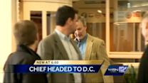 Chief Flynn heads to Washington to testify on assault weapons ban
