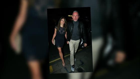 Elizabeth Hurley Wows on a Night Out With Designer Patrick Cox