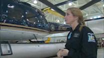 Only female pilot in New York State Police speaks out