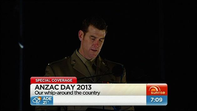 Roberts-Smith leads ANZAC service