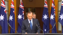 Tony Abbott Announces Australian Troop Deployment to Fight Islamic State in Iraq