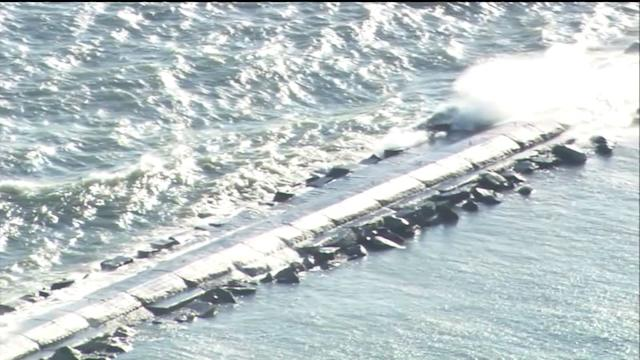Beach Hazard Issued For Lake Michigan; Massive Waves Expected