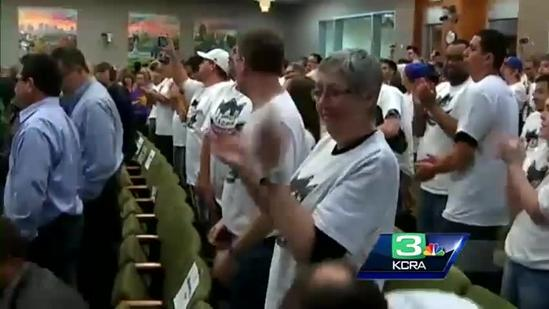 Sacramento City Council approves term sheet for new arena