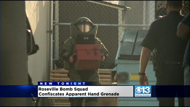 Man Discovers Device That Appears To Be Grenade In Roseville Storage Locker
