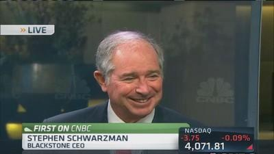 Schwarzman on M&A: Deals to be had