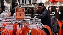Christmas shopping season ends with sales