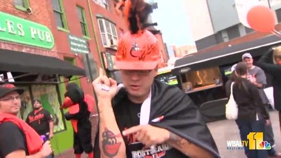 Orioles fans pumped up all over Birdland, including Florida