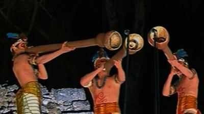 Mayan Ceremony Marks End of Calendar Cycle