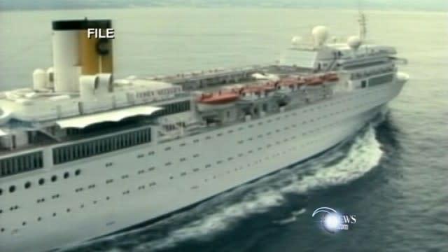 Cruise Ship Stranded