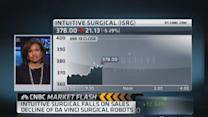 Intuitive Surgical hit hard post Q3 data